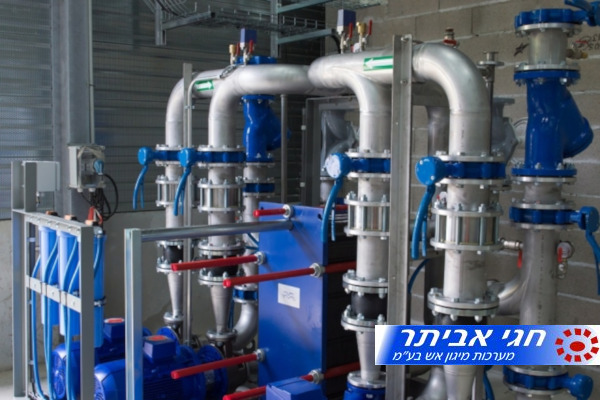 """בדיקת צנרת לאופיין רשת מים - חגי אביתר מערכות מיגון אש בע""""מ"""